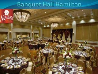 Banquet Hall Hamilton