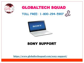 Sony Laptop Support Drivers Toll Free 1-800-294-5907