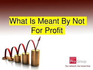 What Is Meant By Not For Profit