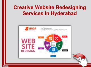 Creative Website Redesigning Services In Hyderabad