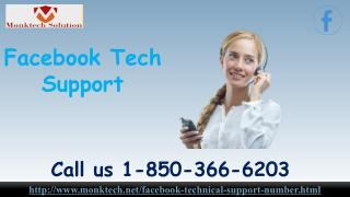 Is Facebook Tech Support truly great 1-850-366-6203?