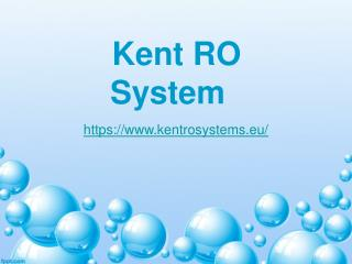 KentRosystems-Water Purifier, Air purifier, TDS meter, Bed cleaner.