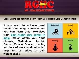 Best Health Care Center in India