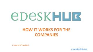 eDesk HUB - Review & Research Platform for Technology Services