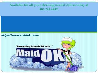 House Cleaning Company Oklahoma City