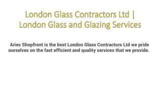 London Glass Contractors Ltd