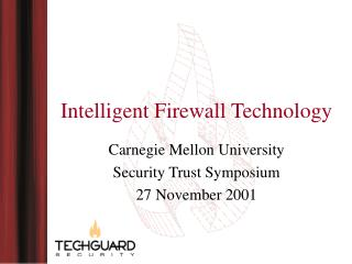 Intelligent Firewall Technology