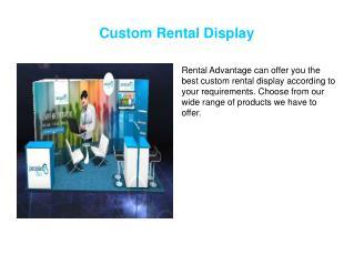 Custom Rental Display