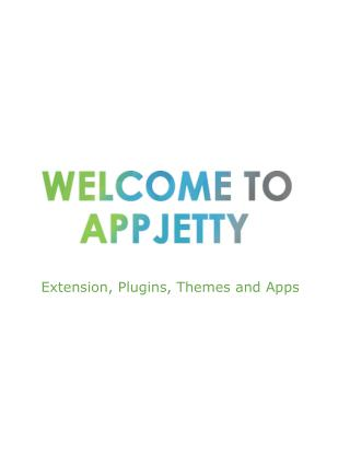 AppJetty - Extension, Plugins, Themes and Apps