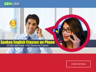 Spoken English Classes on Phone | Best Speaking English Course