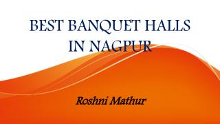 Best Banquet Halls in Nagpur | Banquet Halls in Nagpur