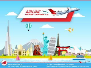 Book your flights with Airline Ticket Centre at Affordable Rates
