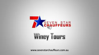Seven Star Chauffeurs-Winey Tours