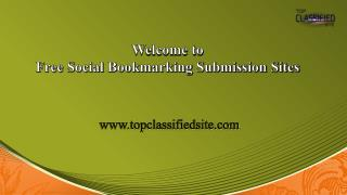 Top 100 High Pr Bookmarking Sites 2017