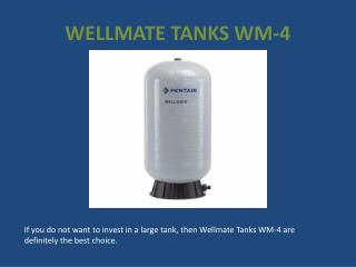 Wellmate Tanks WM-25 – Precautions for Buying It Online