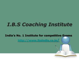 IBPS Bank PO Coaching in Chandigarh