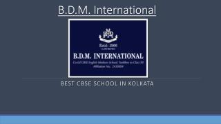 Best CBSE School in Kolkata