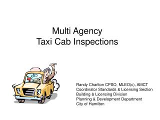 Multi Agency  Taxi Cab Inspections
