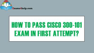 300-101 Braindumps with 300-101 Real Exam Questions Answers