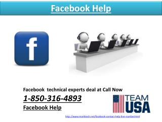 Is Facebook Help@1-850-316-4893  team really a true rescuer? Get it good benefit!