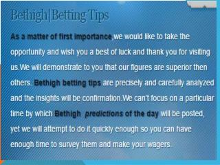 Best Paid soccer tips