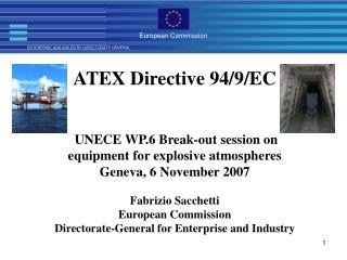 ATEX Directive 94