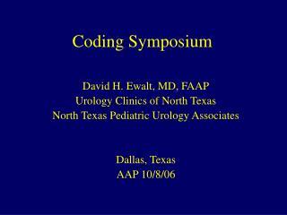 Coding Symposium