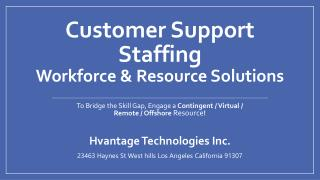 Customer Support Staffing Solutions