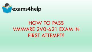 2V0-621 Real Exam Questions & 2V0-621 PDF Dumps