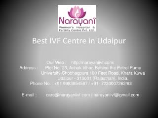 Narayani IVF - Best IVF centre in udaipur