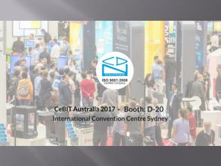 Discuss Your Business Pain Areas at CeBIT Australia 2017
