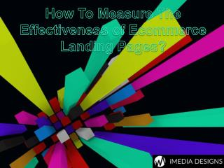 How to Measure The Effectiveness of eCommerce Landing Pages?