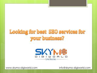 Best seo company in Pune,SEO, Internet Marketing, |Skymo‏ Digiworld