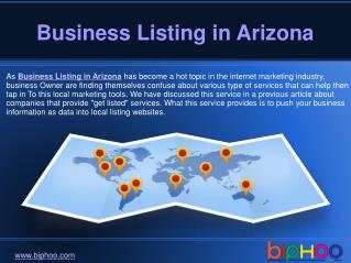 Free Business Listing in Arizona