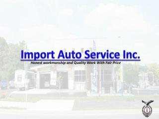 Import Auto Service Inc.