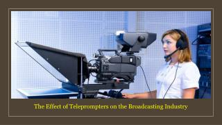 Professional HD Broadcasting Teleprompters in UAE
