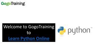 Learn Python Online
