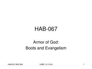 HAB-067