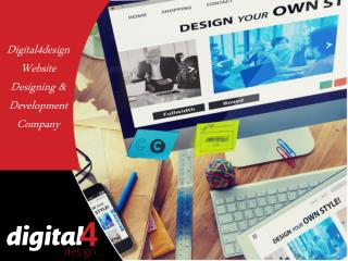 Get Eye-catching Website By Digital4design Web Design Company In Florida