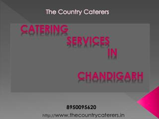 Catering Services in Chandigarh