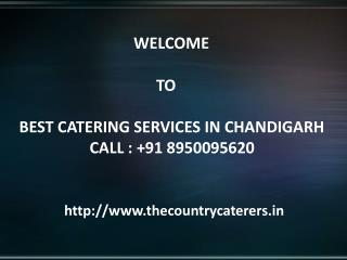 Catering Services In Panchkula