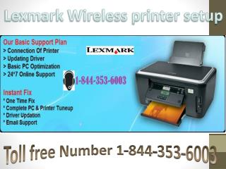 Online Lexmark support 1*844*353*6003 Lexmark printer customer