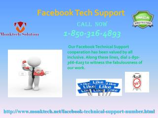Is Facebook Tech Support decent for the clients 1-850-316-4893?