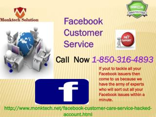 How to take help from Facebook Customer Service team's geeks?1-850-316-4893
