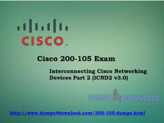Cisco 200-105 Free Exam Question - Money Back Guarantee
