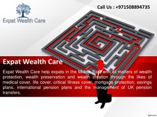 Mutual Fund Investment | Private / Corporate Pension Plan in UAE, Dubai & Abu Dhabi