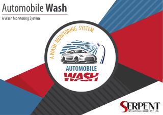 Automobile Wash-A Wash Monitoring System