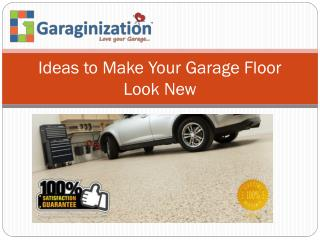 Ideas to Make Your Garage Floor Look New