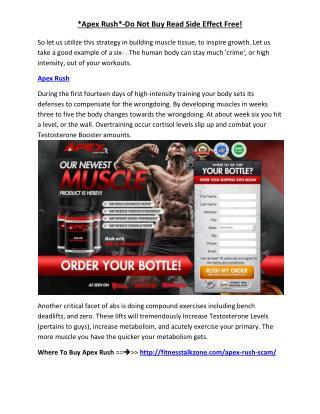 http://fitnesstalkzone.com/apex-rush-scam/