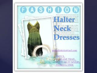 Adjustable Halter Dress